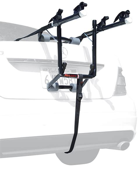 Car Back Rack by New 2 Cycle Trunk Rack Rear Mount Two Bikes Carrier Car
