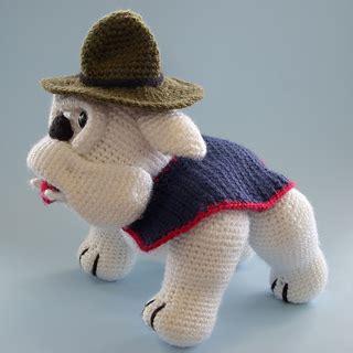 crochet pattern english bulldog ravelry bulldog pattern by sandy o brien