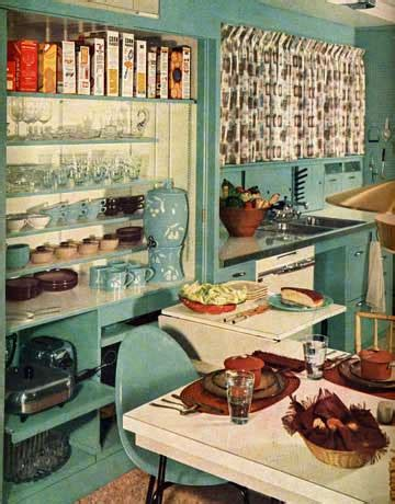 Kitchen Colors Of The 1950 S Retro Kitchen Decor 1950s Kitchens