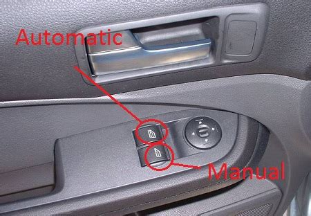 Buttons Why Electric Car Windows Can Be Automatic For