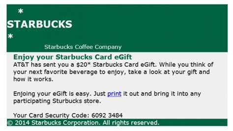 E Gift Card Starbucks - image gallery starbucks egift