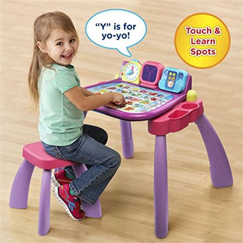vtech touch and learn desk vtech touch learn activity desk purple online exclusive
