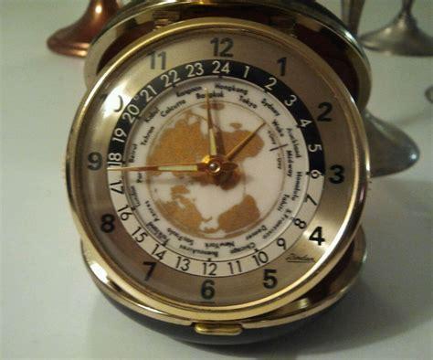 details  vintage collectible alarm clock japan linden