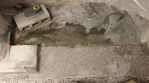 epoxy terrazzo floor coating installation  polishmaxx