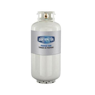 worthington pro grade 40 lb empty propane tank 302018