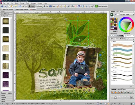Bringing Digital Scrapbooking To Scrapbook Retail Stores The Mad Cropper 2 by Digital Scrapbook Artist 2 Graphic Design Software For Pc