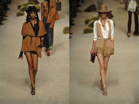 8 Western Inspired Looks by Hermes Western Style Feather Factor