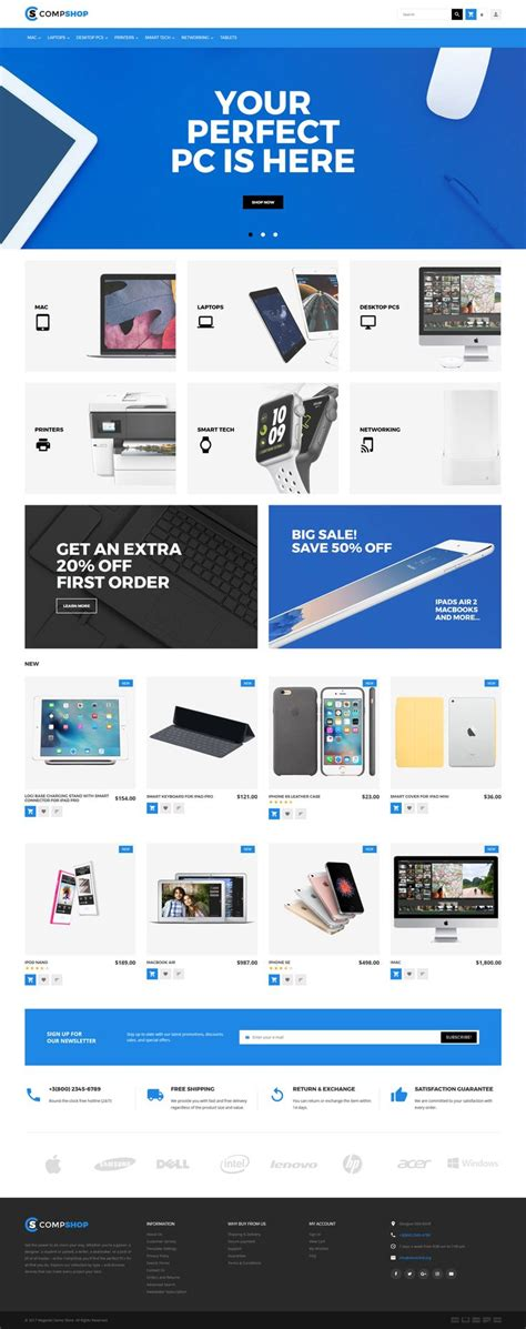 magento themes computer store 190 best magento themes images on pinterest website