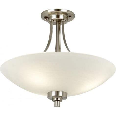 welles satin chrome ceiling light endon welles 3sc 3