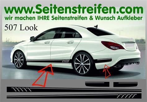 Mercedes Aufkleber by Mercedes Gla 507 Replika Seitenstreifen Dekor
