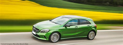 green mercedes a class 2018 mercedes a class u s release date and design