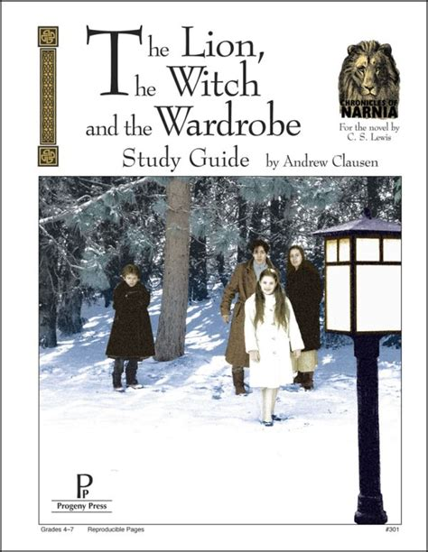 Witch And Wardrobe Study Guide by The Witch And The Wardrobe Study Guide 009291 Details Rainbow Resource Center Inc
