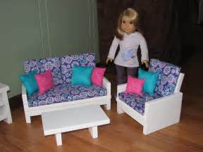 18 inch doll furniture set for american doll loveseat