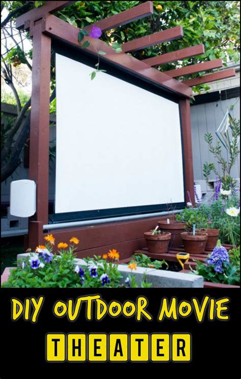 Backyard Theater Ideas Best 25 Backyard Theaters Ideas On Outdoor Theaters Outdoor Theater