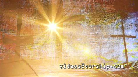 3 Grunge Crosses Easter Motion Background Youtube Free Easter Motion Backgrounds