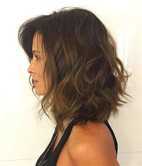 medium length textured bob 31 best shoulder length bob hairstyles stayglam