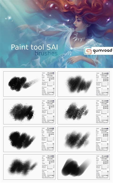 paint tool sai 2015 paint tool sai brushes by sharandula on deviantart
