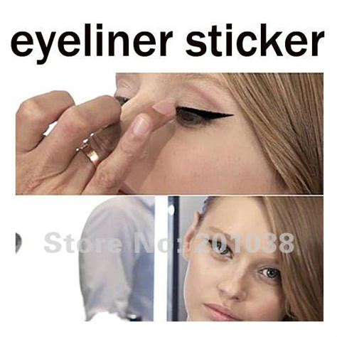 winged eyeliner tattoo 5 pieces lot fashion temporary transfer eyeliner