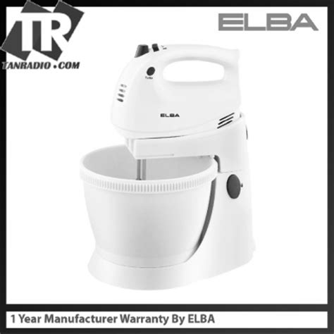 Blender Elba elba stand mixer esmb a3530 wh white with 5 speed
