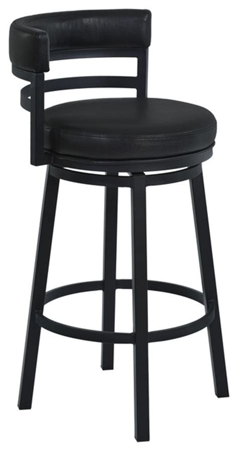 claymont black counter height stool barstools metal armen living madrid metal swivel stool black ford black