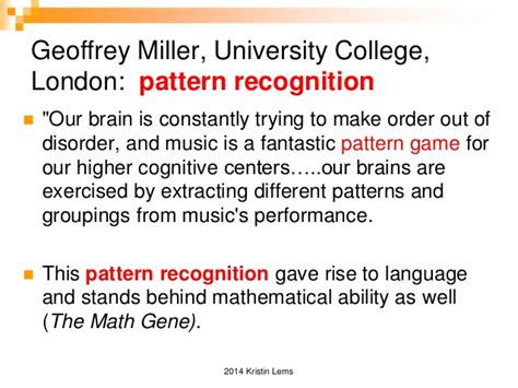 pattern recognition disorder kristin lems pci at tesol 2014 music and song in