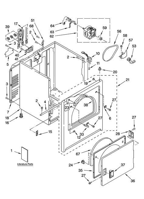 whirlpool wed5300sq0 wiring diagram 35 wiring diagram