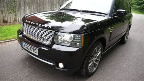 2010 range rover autobiography for sale 2010 10 range rover autobiography 5 0 v8 40th anniversary