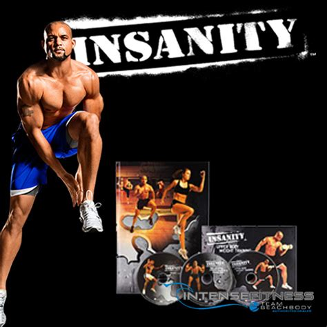 insanity deluxe workouts with shaun t from beachbody