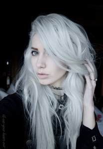white hair color forget about gray these looks will make you want to dye