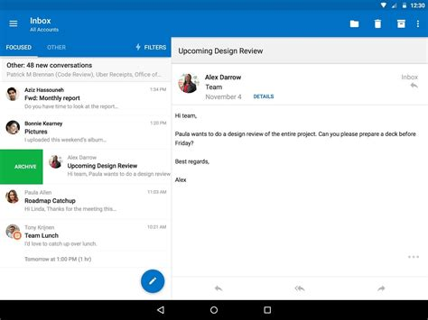 microsoft outlook for android microsoft outlook android apps on play