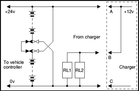 charging a 24v system from a 12v source 4qd electric