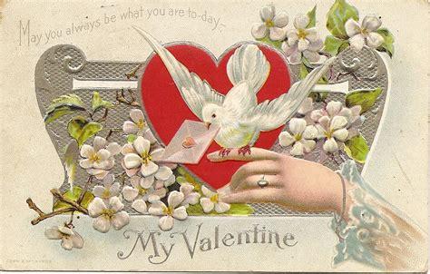 valentines vintage 1910 vintage just for you twobarkingdogs