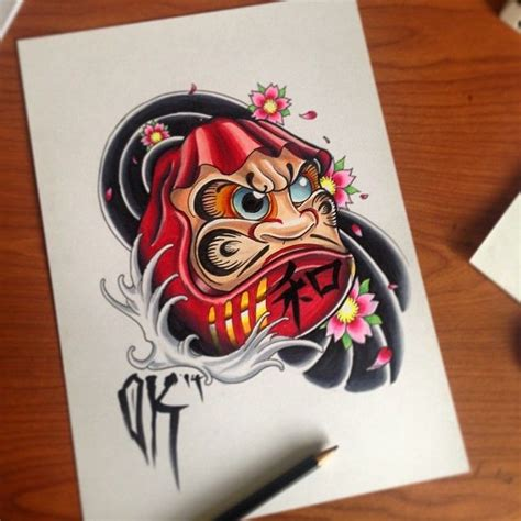 daruma doll tattoo designs best 25 daruma doll ideas on daruma doll