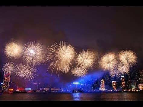 hong kong lunar new year fireworks display 2014 hong kong 2014 lunar new year fireworks in