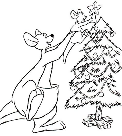 santa kangaroos coloring pages 17 best images about tree on pinterest coloring pages