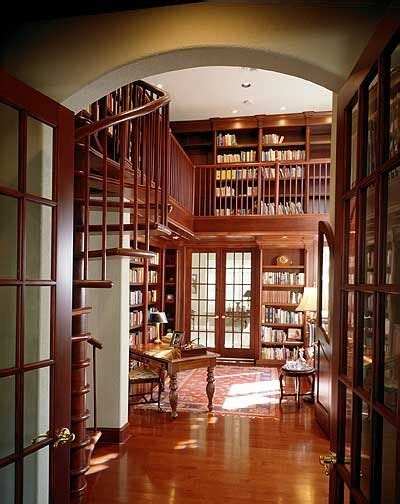 home library design plans plan 83383cl two story dream library florida houses
