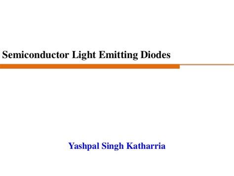 light emitting diode history light emitting diodes