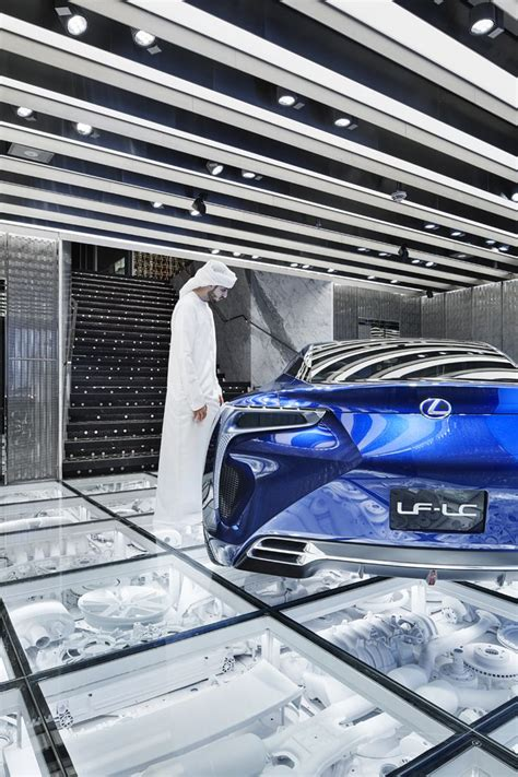 lexus dubai 11 best car showroom images on pinterest wonderwall