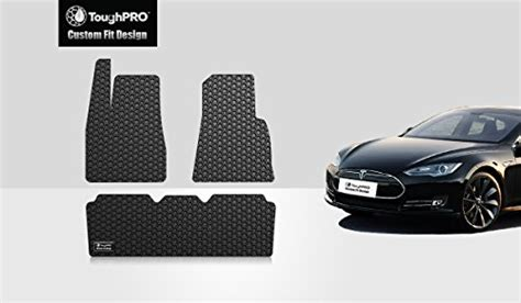 Tesla All Weather Floor Mats Toughpro Tesla Model S Floor Mats Set All Weather