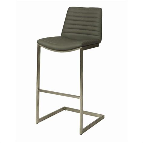 Pastel Bar Stools by Pastel Furniture Buxton Bar Stool In Gray Qlbx210x21096