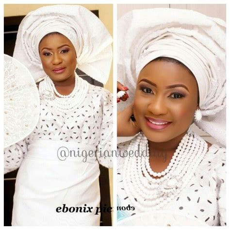 nigerian wedding latest aso oke colors newhairstylesformen2014 com 10 best images about white lace iro and buba on pinterest