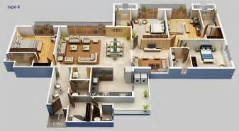 home plan design 4 bhk 4 bhk home plan house design plans