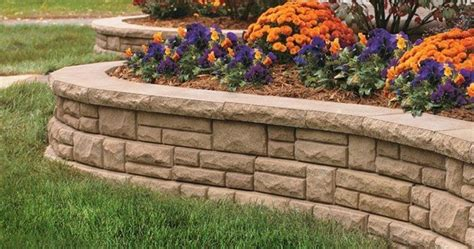 garden bed retaining wall retaining wall flower bed layout ideas