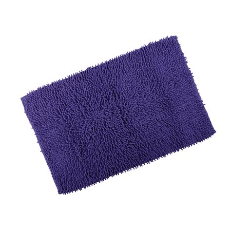 Chenille Bath Rugs by Odyssey Chenille Cotton Shower Bath Mat Soft Washable