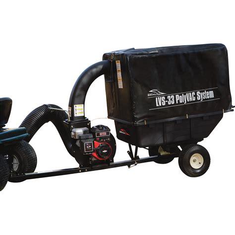Lawn Vaccums brinly hardy poly lawn vac system 206cc briggs