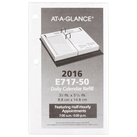 At A Glance Desk Calendar At A Glance Daily Desk Calendar Daily Desk Calendar