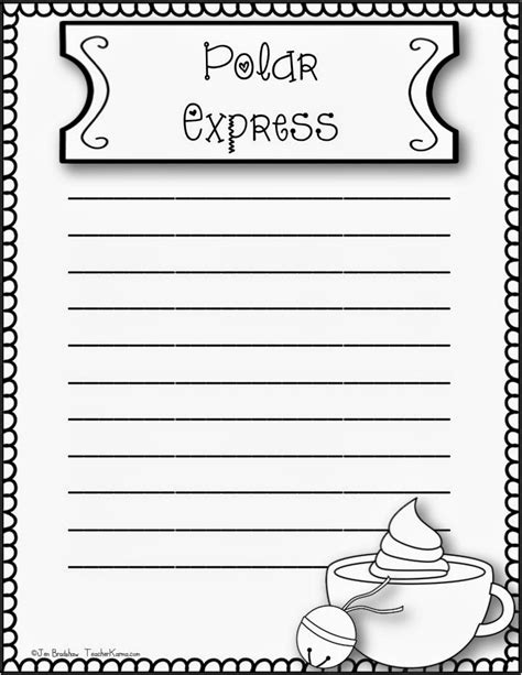 how to make a polar express paper christmas tree polar express reflections how to make it happen with this freebie karma