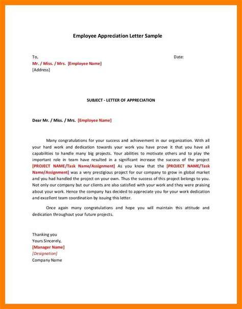 letter format in 6 recognition letter format janitor resume
