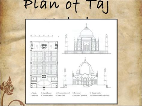 taj mahal floor plan floor plan of taj mahal india images