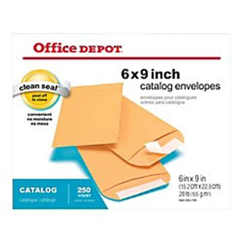 Office Depot Order Status Office Depot Clean Seal Tm Catalog Envelopes 6in X 9in